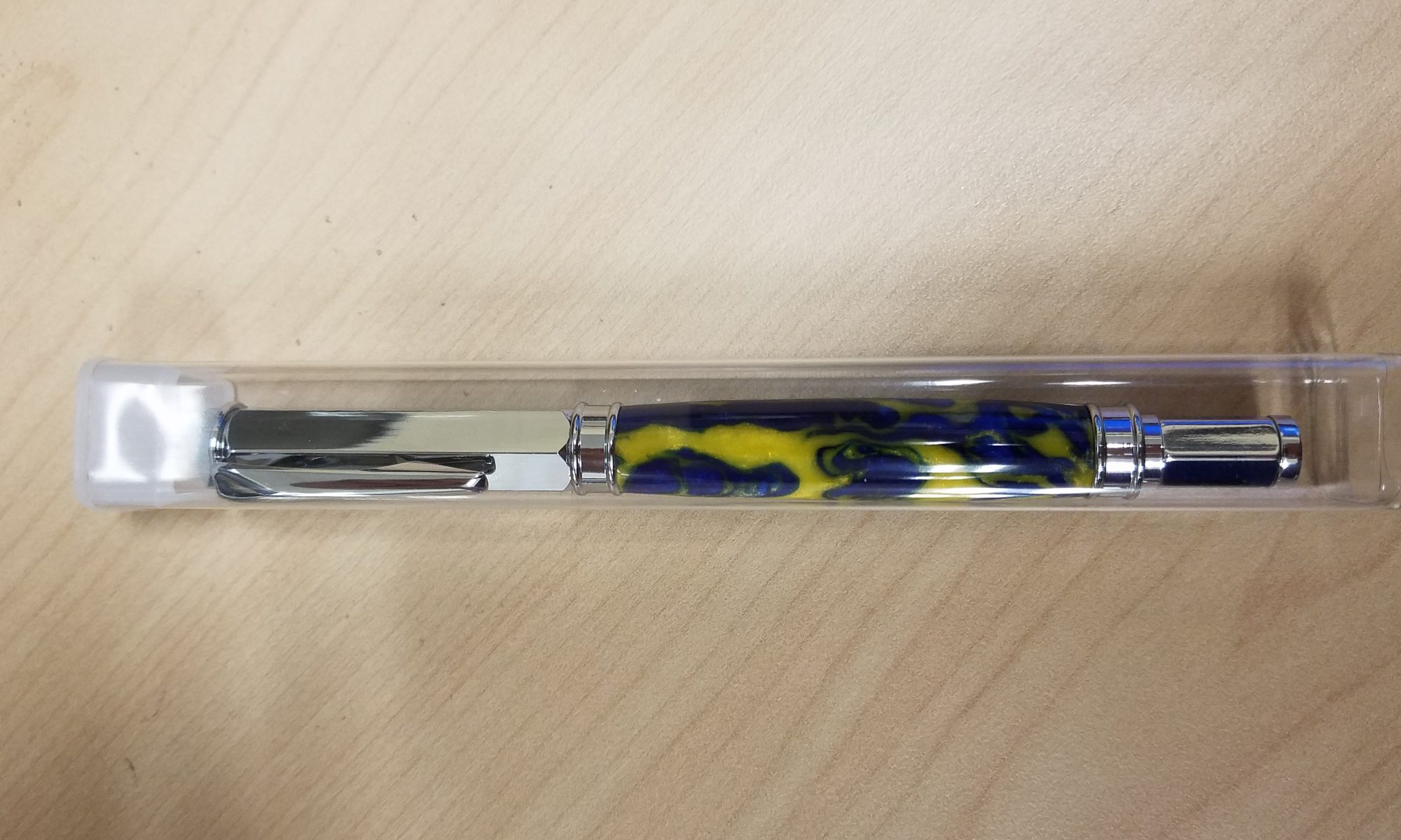 Completed pen